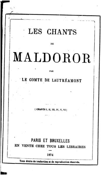 page1-345px-Lautreamont_-_Chants_de_Maldoror.djvu