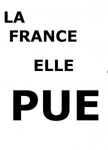 LA FRANCE ELLE PUE