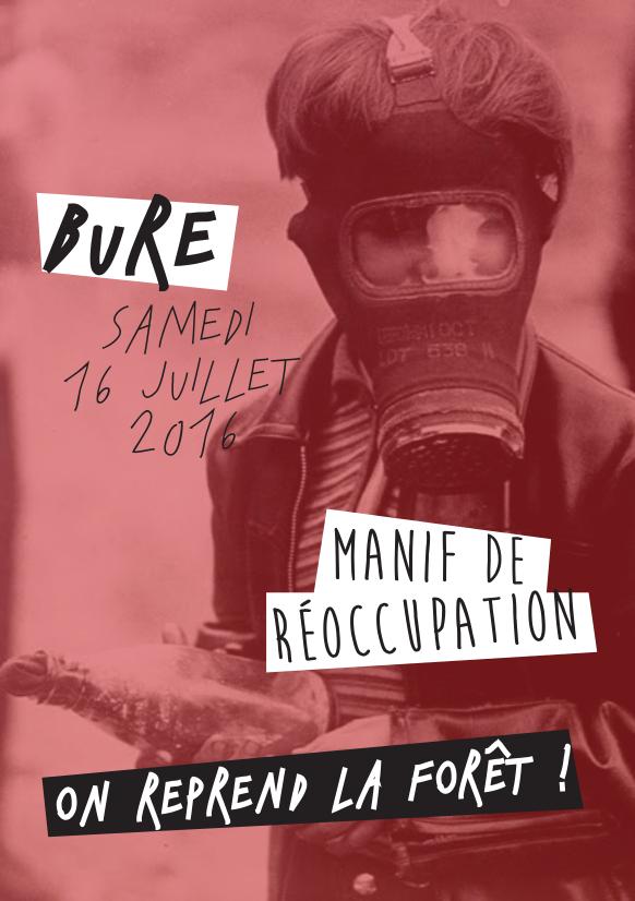 manif réoccupation bure 2016